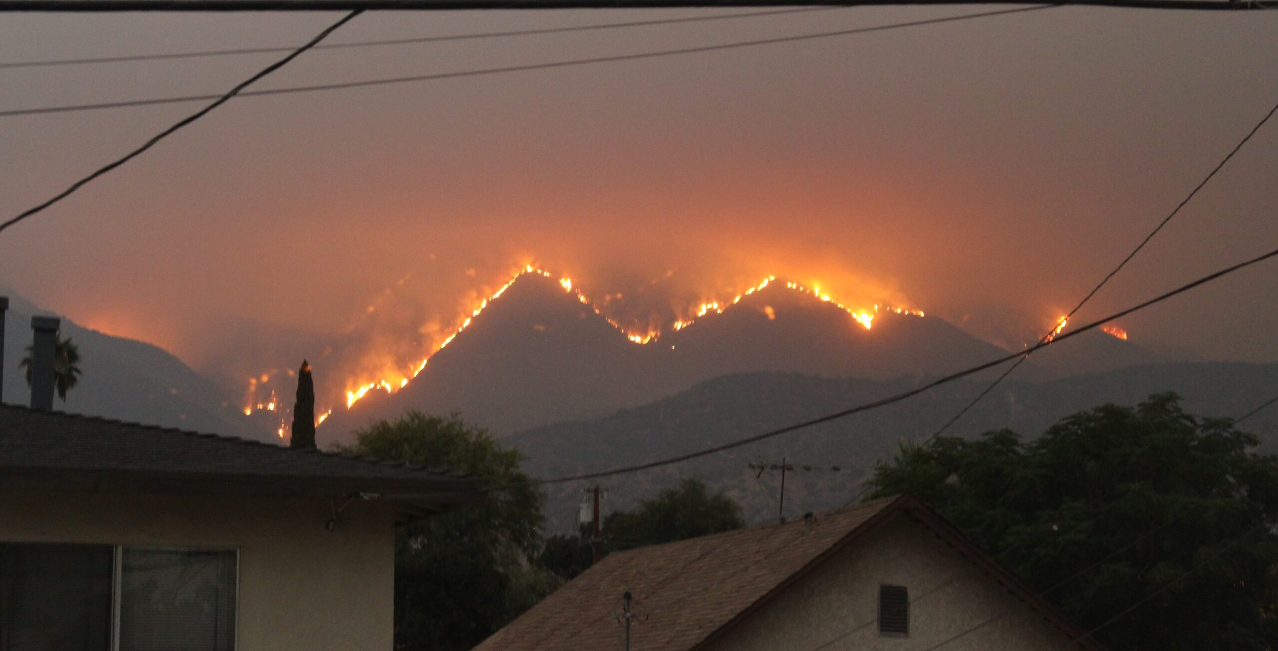 Bobcat fire Los Angeles